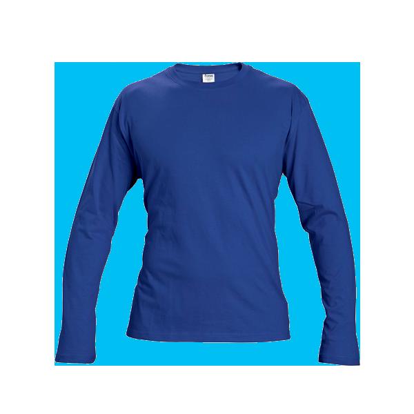 tricou-maneca-lunga-cambon-albastru-royal