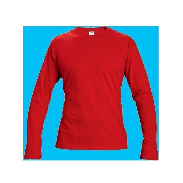 tricou-maneca-lunga-cambon-rosu