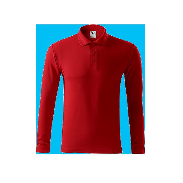 tricou-polo-maneca-lunga-pique-rosu