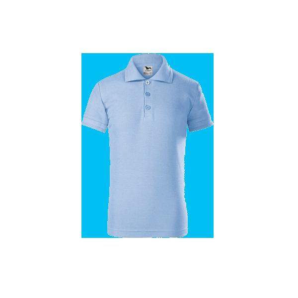 tricou-polo-maneca-scurta-copii-pique-albastru-inchis