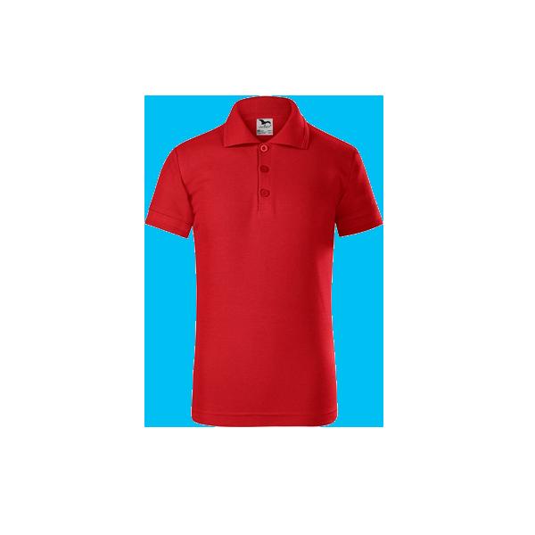 tricou-polo-maneca-scurta-copii-pique-rosu