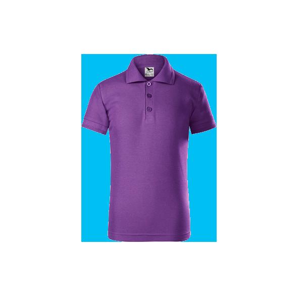 tricou-polo-maneca-scurta-copii-pique-violet